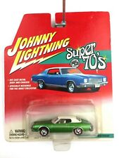 Johnny Lightning Super 70's Series 1974 74 Ford Torino Green Die Cast 1/64 Scale