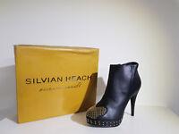 """"""" Silvian Heach """" Scarpa Donna .Sconto -75 % Art. Ankle Boots - Col.Nero"""