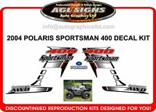 2004 POLARIS  Sportsman 400 4X4 Decal kit  reproductions