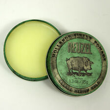 REUZEL GREEN Medium Hold Grease Pomade Piglet Size 1.3Oz 35g Made In USA NEW