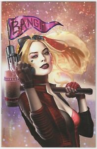 Harley Quinn #3 Greg Horn Margot Robbie Virgin Variant NM