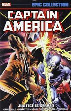 Captain America Epic Collection Volume 13: Justice Is Served Softcover