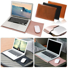 "Universal 11"" 11.6"" 12"" 13"" 14"" 15.4"" Laptop PC PU Leather Sleeve Bag Cover Case"