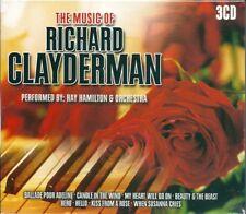The Music of Richard Clayderman (2004) BOX 3CD NUOVO Ballade pour Adeline Nikita