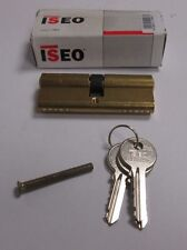 ISEO Euro Cylinder 80mm 40mm / 40mm Door Lock Brass C/W 3 Keys UPVC PVC 5 PIN