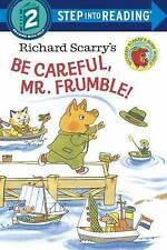 Richard Scarry's Be Careful, Mr. Frumble! Step into Reading 2 by Richard Scarry (Paperback, 2015)