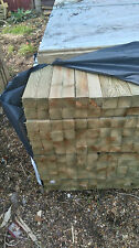 """20 X 2"""" X 2"""" (47 X 47mm) TREATED TIMBER WOOD 2,4m LENGTHS SMOOTH FINISH IDEAL"""
