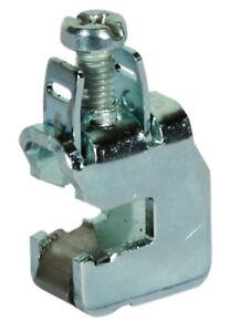 Sammelschienenklemme Anschlussklemme 16 mm² für 12x5 mm Schienen Zählerschrank