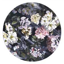 "Designers Guild Delft Flower Noir Rug - 8'2"" x 8'2"""