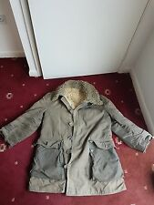 Mats Larsson Swedish Army Parka WW2 MILITARY ARCTIC VINTAGE Sheepskin COAT 1940s