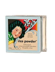 polvo de arroz maquillaje palladio natural polvos nuevo el mejor suave y fresca