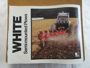White Semi-mounted Plows Brochure 12 Page