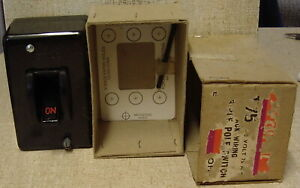Clipsal New 75 Amp 3 Phase Main Switch