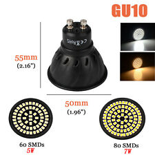 GU10 MR16 Spotlight 3528 Cool /WarmWhite Led Bulb 60/80Leds Light lamp 110V/220V