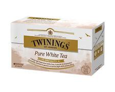 TE BIANCO PURE WHITE TEA 25 BUSTINE TWININGS TEA