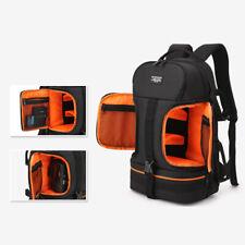 Waterproof Camera Backpack Bag Case Insert 14' Laptop For Dslr Canon Nikon Sony