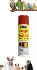 More details for johnson's cage & hutch spray 250ml, for small animals & birds kills mites, fleas