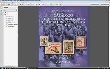 Catalogo sellos locales guerra civil espanola 1-3  Spain local stamps catalog
