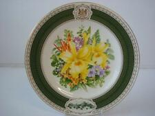 SPODE KEW FLORA EXOTICA PRINCESS OF WALES CONSERVATORY COMMEMORATIVE PLATE