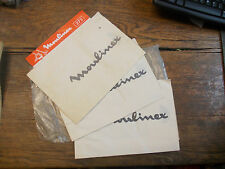lot de 3 sacs papier pour aspirateur 750/800 moulinex