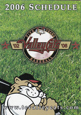 2006 TRI-CITY VALLEY CATS MINOR LEAGUE BASEBALL POCKET SCHEDULE