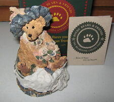 Boyds Vintage Bearstone-Signed-Victoria .The Lady-1E