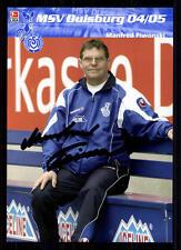 Manfred piwonski MSV Duisburg 2004-05 2. scheda Top + a 70625