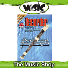New Progressive Recorder - Learn to Play Book with CD by Peter Gelling