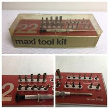 RARE VINTAGE MAXI TOOL KIT BY MOODY PRECISION TOOLS IN CASE Watch Repair  #H