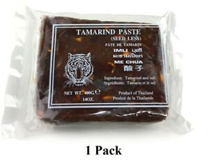 14oz Wet Tamarind Paste,Sour Tamarind Paste Seedless Tamarido Product Thailand