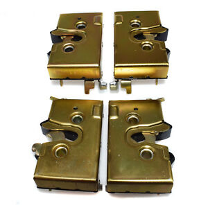 4Pcs Door Lock Box Catch Latch Front Rear Left Right For VW Rabbit Jetta Golf
