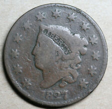 1827 and 1829 Large Cents