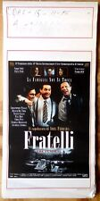 locandina playbill CINEMA FRATELLI THE FUNERAL ABEL FERRARA DEL TORO WALKEN