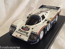 KYOSHO Dnano ASC MM PORSCHE RACING 962C LH No.1, 1:43 DISPLAY MODEL, DNX601PR