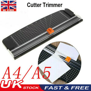 A4/5 Paper Trimmer Heavy Duty Paper Cutter Photo Guillotine Craft Machine Rotary
