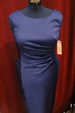 NWT Ralph Lauren Dress Size 8 Summer NBLTY Blue $194 - Classy New with Tags