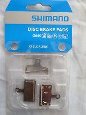 Shimano Disc Brake Pads Metal G04S XTR XT SLX Alfine **New**