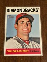 2013 Topps Heritage Baseball Base Card - Paul Goldschmidt - Arizona Diamondbacks