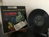 """Just Jazz"" ..Gene Norman Presents Just Jazz w/ Les Thompson RCA-LPM3102...1953"