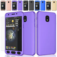 For Samsung Galaxy J7 Star / J3 Orbit Tempered Glass Screen Protector Case Cover