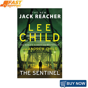 The Sentinel: (Jack Reacher 25) by Lee Child   Paperback Book   NEW   FREE SHIP