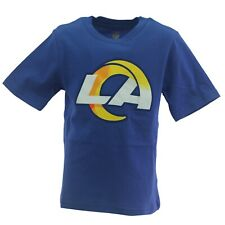 Los Angeles Rams Nfl Team Apparel Children's Youth Kids Size T-Shirt New Tag