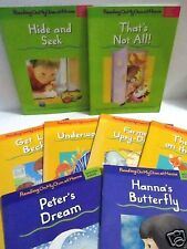 Lot of 9 READING ON MY OWN AT HOME Free Ship Learn To Read Beginning Readers