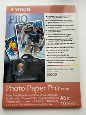 Canon A3 Photo Paper Pro. 9 Sheets PR-101 Pack. Opened