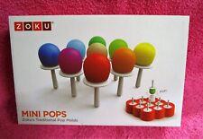 Zoku Mini Pops Traditional Pop Molds Set of 9