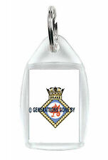 HMS DRAKE KEY RING (ACRYLIC)