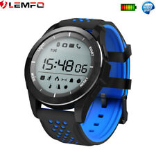 Bluetooth Impermeable Reloj Inteligente Podómetro Calories For Android iPhone
