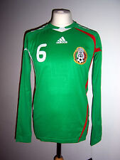 BNWT Mexico 2008/2009 Player Match Issue #6 Home Shirt Adidas M