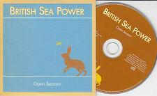 BRITISH SEA POWER Open Season 2005 UK 11-trk promo CD card sleeve RTRADCDP200A