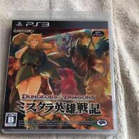 PS3 Capcom video game Dungeons & Dragons Misutara hero Senki from Japan Used